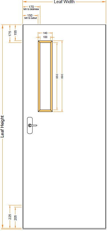 Interior Fire Doors Double Acting Single Or Pair