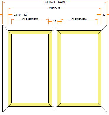 NFR Double Pane Window