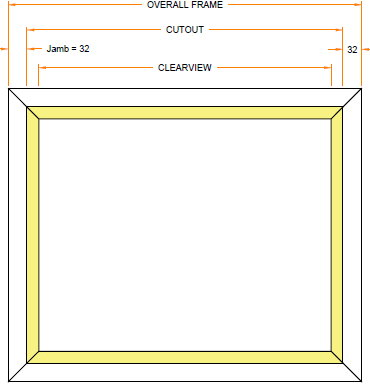 NFR Single Pane Window