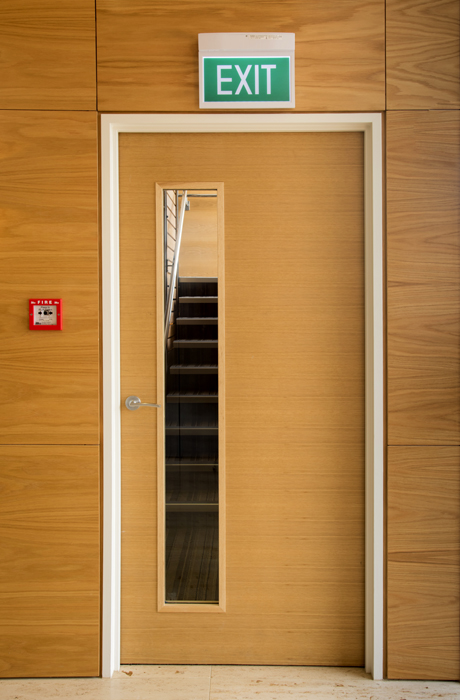 Office Fire Door Doors With Glass